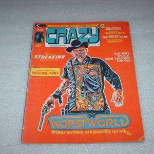 Vintage July 1974 Stan Lee Crazy Magazine #5